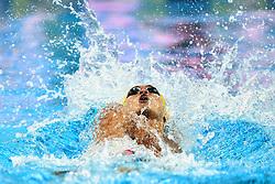 Dec. 12, 2018 - Hangzhou, China - XU JIAYU of China competes during Men's 100m Backstroke Final at 14th FINA World Swimming Championships (25m) in Hangzhou, east China's Zhejiang Province. Jiayu won the silver medal with a time of 49.26 seconds. (Credit Image: © Xinhua via ZUMA Wire)