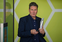 © Licensed to London News Pictures. 14/05/2016. London, UK. Labour MP KEIR STARMER leaves the Progress annual conference at TUC Congress Centre in London. Photo credit: Ben Cawthra/LNP