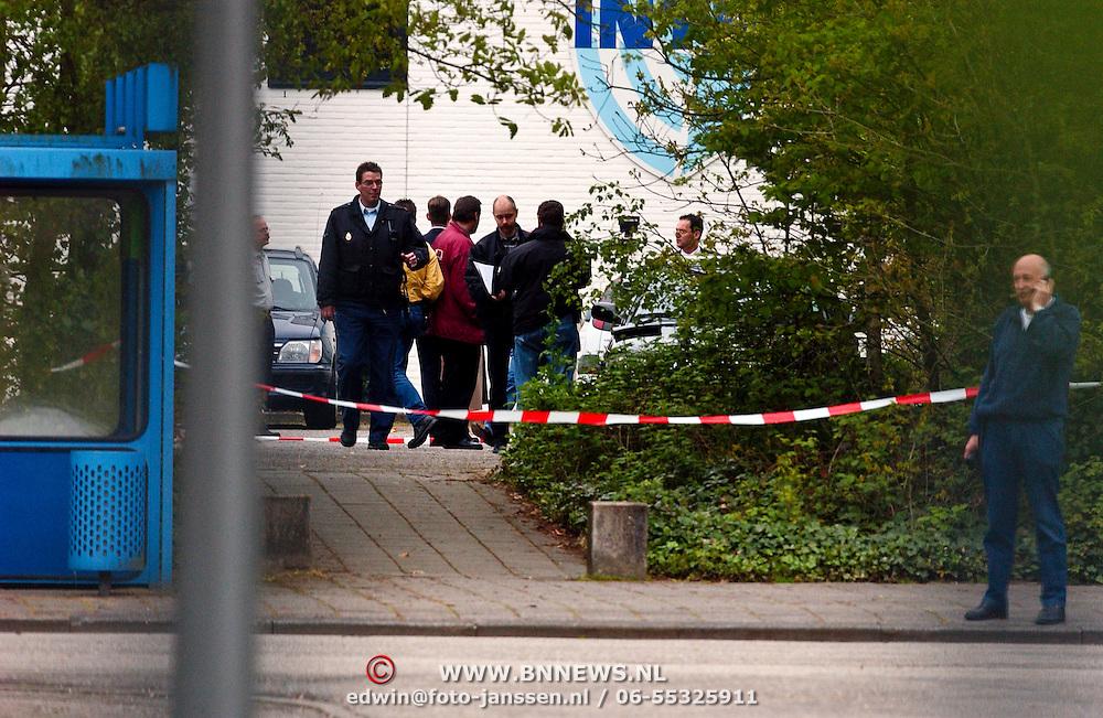 Moord Pim Fortuyn Hilversum, politie afzetting