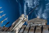Venice, Italy featuring the Basilica San Giorgio, Calle san Biagio, Arsenale and the Grand Canal