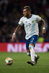 March 22, 2019 - Madrid, Madrid, Spain - Roberto Pereyra (Watford) of Argentina controls the ball during the international friendly match between Argentina and Venezuela at Wanda Metropolitano Stadium in Madrid, Spain on March 22 2019. (Credit Image: © Jose Breton/NurPhoto via ZUMA Press)