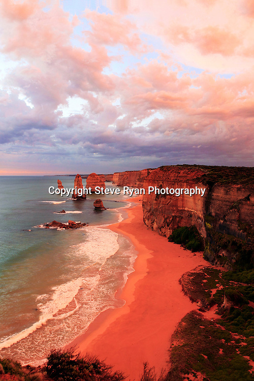 Apostles post thunder storm.<br /> Situated on the Ship Wreck Coast  south western Victoria , right on the Great Ocean Road