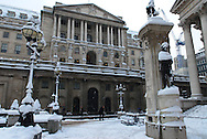 The Bank of England, City, London, England, Britain 2 Feb 2009