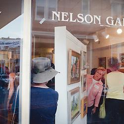 October 5, 2013- Lexington, VA- At the Nelson Gallery for First Fridays Art Walk on Washington St in Lexington, VA.