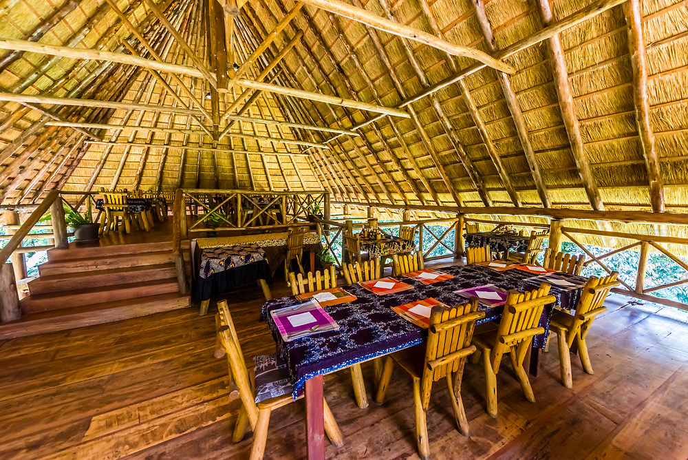 Restaurant, Kibale Forest Camp, Kibale, Uganda.