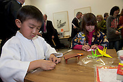 19/03/2014 Six and a Half year old Riki Tanaka  at a Japanese evening at the Galway Education Centre. . Photo:Andrew Downes .