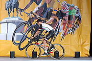 Tom Dumoulin ( Team Sunweb ) during the Tour de France 2018, Teams presentation on July 5, 2018 in La Roche-sur-Yon, France - Photo George Deswijzen / Pro Shots / ProSportsImages / DPPI