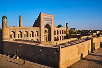 Ouzbekistan, Khiva, patrimoine mondial de l UNESCO, madrasa Mohammed Rakhim Khan // Uzbekistan, Khiva, Unesco World Heritage, Mohammed Rakhim Khan medresa