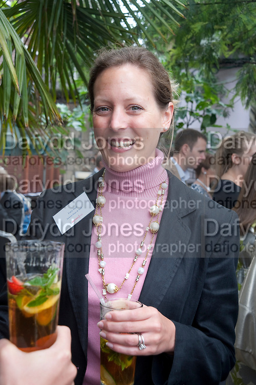 LUCY HALL JACKSON STOPS AND STAFF, Archant Summer party. Kensington Roof Gardens. London. 7 July 2010. -DO NOT ARCHIVE-© Copyright Photograph by Dafydd Jones. 248 Clapham Rd. London SW9 0PZ. Tel 0207 820 0771. www.dafjones.com.