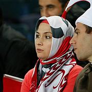 Turkey's supporters during their UEFA EURO 2012 Qualifying round Group A soccer match Turkey between Austria at Sukru Saracoglu stadium in Istanbul March 29, 2011. Photo by TURKPIX