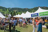 The Food & Wine Classic in Aspen.