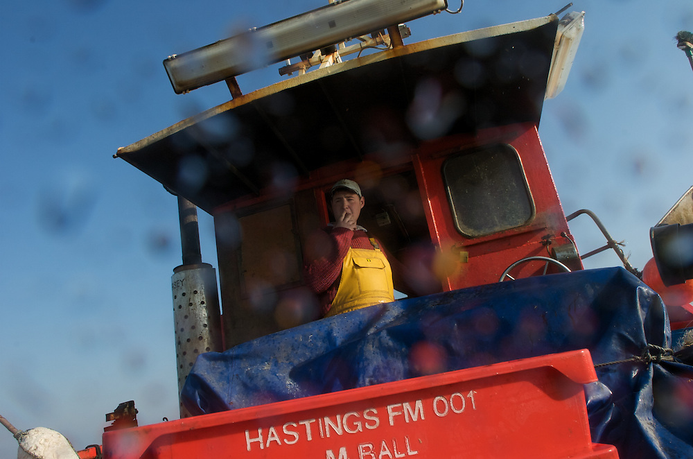 Small boat fishermen in Hastings, England face trying odds to maintain their thousand year old maritime traditions.
