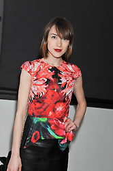 ELLA CATLIFF at the Swarovski Whitechapel Gallery Art Plus Fashion fundraising gala in support of the gallery's education fund held at The Whitechapel Gallery, 77-82 Whitechapel High Street, London E1 on 14th March 2013