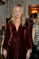 LONDON, ENGLAND 1 DECEMBER 2016:  Marissa Montgomery at the Smythson & Brown's Hotel Christmas Party held at Brown's Hotel, Albemarle St, Mayfair, London, England. 1 December 2016.