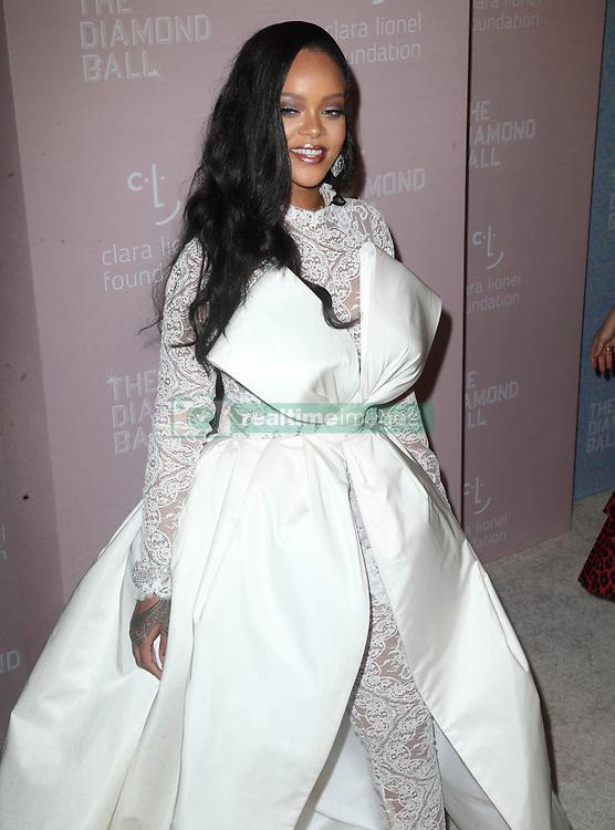 September 14, 2018 - New York City, New York, USA - 9/13/18.Rihanna at Rihanna''s 4th Annual Diamond Ball held at Cipriani Wall Street in New York City..(NYC) (Credit Image: © Starmax/Newscom via ZUMA Press)