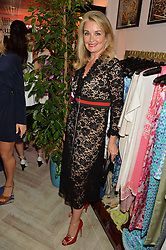 SANDY MACDONALD-HALL at the launch of AYA jewellery by Chelsy Davy held at Baar & Bass, 336 Kings Road, London on 21st June 2016.