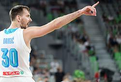 Zoran Dragic of Slovenia during friendly basketball match between National teams of Slovenia and Croatia, on June 18, 2021 in Arena Stozice, Ljubljana, Slovenia. Photo by Vid Ponikvar / Sportida