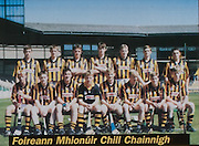 All Ireland Senior Hurling Championship - Final, .03.09.1995, 09.03.1995, 3rd September 1995, .03091995AISHCF, .Senior Clare v Offaly,.Minor Kilkenny v Cork,.Clare 1-13, Offaly 2-8, ..Bus Eireann, .Kilkenny Minor, Back from left, Sean Dowling, Shane Lanigan, David Carroll, Mark Dunphy, Andrew Hickey, Ritchie Mullally, Ger Kirwan, Front from left, PJ Coady, Michael Kavanagh, Eoin Behan, PJ Ryan, Paul Hoyne captain, Ramie Cahill, Sean Millea, Michael Hoyne,