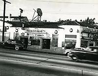 1950 Maxime Restaurant on Sunset Blvd.
