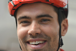 March 2, 2019 - Dubai, United Arab Emirates - Dutch rider, Tom Dmoulin, from Team Sunweb, seen at the start line of the seventh and final stage - Dubai Stage of the UAE Tour 2019, a 145km with a start from Dubai Safari Park and finish in City Walk area. .On Saturday, March 2, 2019, in Dubai Safari Park, Dubai Emirate, United Arab Emirates. (Credit Image: © Artur Widak/NurPhoto via ZUMA Press)