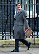 © Licensed to London News Pictures. 05/03/2013. Westminster, UK. Dominic Grieve, the Attorney General. Ministers arrive for a Cabinet Meeting at number 10 Downing Street on 5th March 2013. Photo credit : Stephen Simpson/LNP