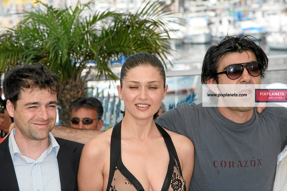 Nurgul Yesilcay - Fatih Akin - - Festival de Cannes - Photocall de l'autre côté - 23/05/2007 - JSB / PixPlanete