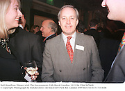Neil Hamilton. Dinner with The Government. Cafe Royal, London. 13/11/96. Film 96746f6<br />© Copyright Photograph by Dafydd Jones<br />66 Stockwell Park Rd. London SW9 0DA<br />Tel 0171 733 0108