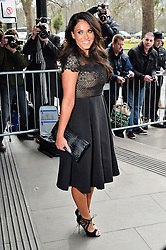 © Licensed to London News Pictures. 08/03/2016. VICKY PATTISON arrives for the TRIC Awards. The Television and Radio Industries Club's annual awards ceremony, honour's the best performers and programmes  of the last year .London, UK. Photo credit: Ray Tang/LNP