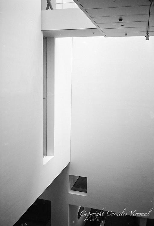 Main Hall, MoMa (Museum of Modern Art) New York.