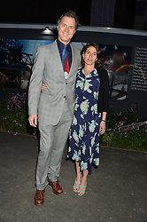 DAVID MORRISSEY and ESTHER FREUD at the Battersea Power Station Annual Party at Battersea Power Station, 188 Kirtling Street, London SW8 on 30th April 2014.