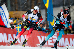 March 16, 2019 - –Stersund, Sweden - 190316 Tarjei Bø of Norway competes in the Men's 4x7,5 km Relay during the IBU World Championships Biathlon on March 16, 2019 in Östersund..Photo: Johan Axelsson / BILDBYRÃ…N / Cop 245 (Credit Image: © Johan Axelsson/Bildbyran via ZUMA Press)