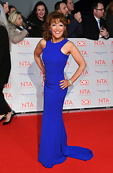 Bonnie Langford attending the National Television Awards 2018 held at the O2, London. Photo credit should read: Doug Peters/EMPICS Entertainment
