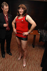 STEPHEN POUND MP dressed as a Cheeky Girl at the Macmillan Cancer Suport Parliamentay Palace of Varieties Show held at the Intercontinental Hotel, Park lane, London on 7th February 2008.<br /><br />NON EXCLUSIVE - WORLD RIGHTS