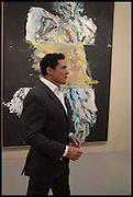 ANDRE BALAZ, Opening of Frieze art Fair. London. 14 October 2014