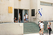 Israel, Tel Aviv, Independence Hall at 16 Rothschild Boulevard. In this Hall, David Ben-Gurion proclaimed the Independence of the state of Israel in 1948