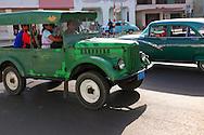 Cars in Pinar del Rio, Cuba.