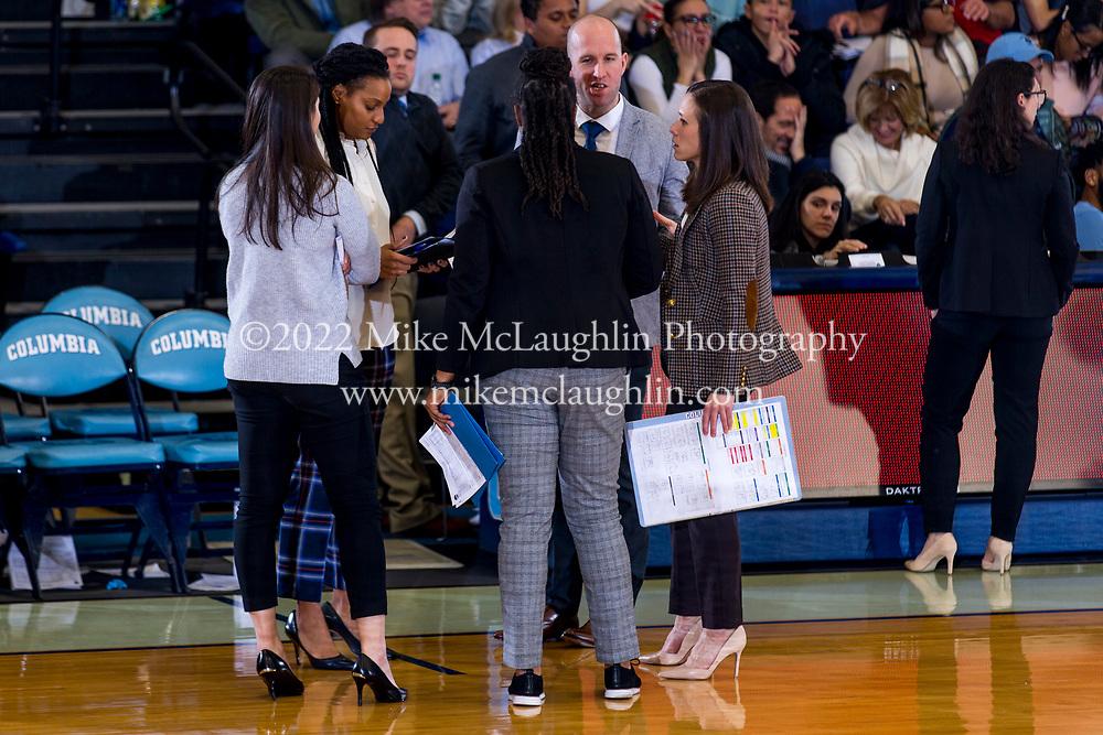 February 15, 2020 New York, NY<br /> Columbia University women's basketball v. Harvard.<br /> 2019 Mike McLaughlin<br /> https://mclaughlin.photoshelter.com/<br /> Mike McLaughlin