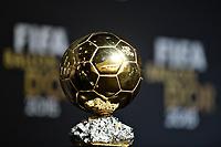 Zurich (Svizzera) 11/01/2016 - Fifa Ballon d'Or 2015 Pallone d'Oro / foto Matteo Gribaudi/Image Sport/Insidefoto<br />nella foto: pallone d'Oro