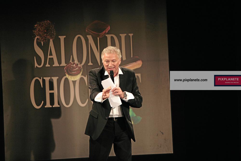Laurent Boyer - (mention obligatoire :) Salon du Chocolat - Maquillage / Coiffure Lucie Saint-Clair - Paris, le 18/10/2007 - JSB / PixPlanete