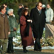 Begrafenis Sylvia, dochter Therese Steinmetz in Blaricum