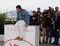 Actor Antonio Banderas at Dolor Y Gloria (Pain and Glory) film photo call at the 72nd Cannes Film Festival, Saturday 18th May 2019, Cannes, France. Photo credit: Doreen Kennedy
