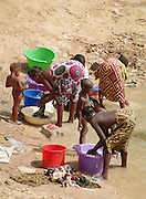 Washing in the Senegal River