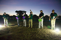 Early Morning Instructions For Hot Air Ballooning Over Bagan