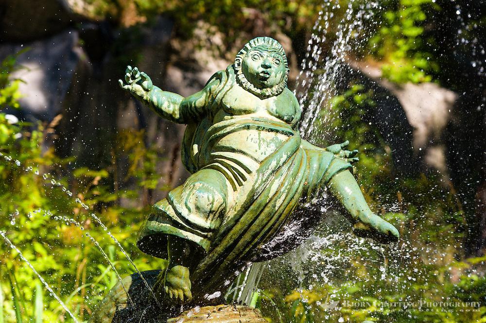 Sweden, Lidingö. Millesgården is an art museum and sculpture garden.