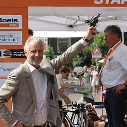 29-08-2017: Wielrennen: Boels Ladies Tour: Wageningen<br />Wethouder Han ter Maat