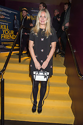 MARISSA MONTGOMERY at the Al Films and Warner Music Screening of Kill Your Friends held at the Curzon Soho Cinema, 99 Shaftesbury Avenue, London on 27th October 2015.