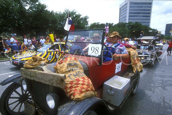 Stock photo of the hillbilly car