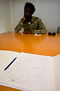 Report on decriminalization of drugs in Portugal.<br /> In the photo : File of Mamadou Cissé an alleged drug addict