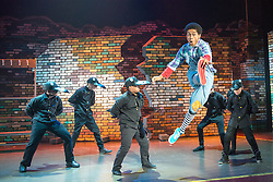 © Licensed to London News Pictures. 09/08/2013. Kate Prince and her award-winning dance company ZooNation return to the Southbank Centre with their twist on The Wizard of Oz: 'Groove on Down the Road'. Picture shows Jaih Betote Dipito (The Scarecrow). Photo credit: Tony Nandi/LNP