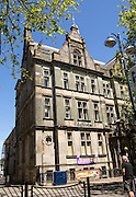 Historic Victorian era buildings in Wind Street, Swansea, West Glamorgan, South Wales, UK